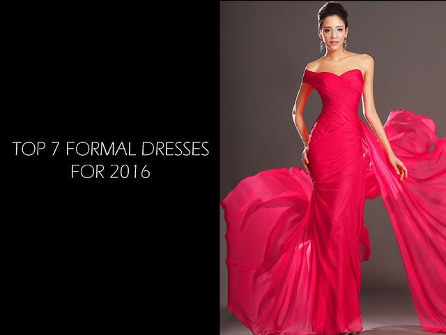 Top 7 Long Formal Dresses For 2016
