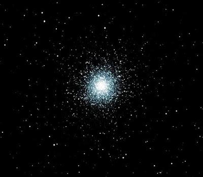 M13 - Globular Cluster in Hercules - Image by Michael Petrasko