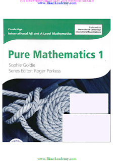 Cambridge IGCSE - PURE MATHEMATICS 1