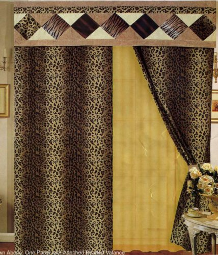 curtains with attached valance The Best Way to Make Curtains with Attached Valances ~ Curtains Design curtains with attached valance