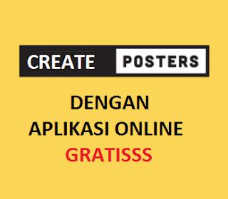 Cara Buat Poster Promosi Online Gratis