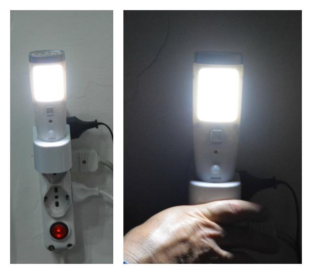 La Creatività di Anna!!!: Eurocali lampada e torcia led con funzione d'emergenza