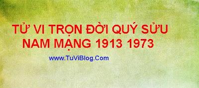 Tu Vi Tron Doi Tuoi Quy Suu 1913 1973