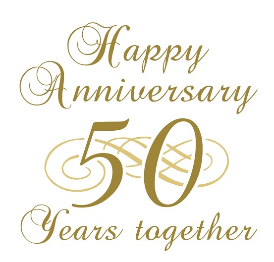happy 50th wedding anniversary messages