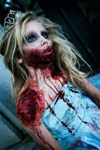 Zombie Halloween Makeup for Girls 2016