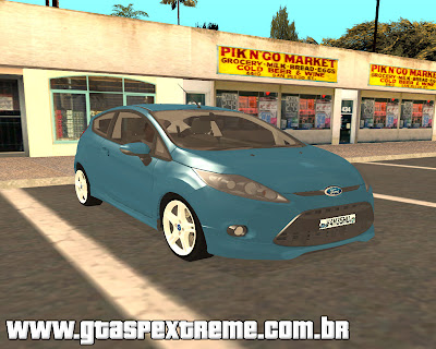 Ford Fiesta Zetec S 2010 para grand theft auto
