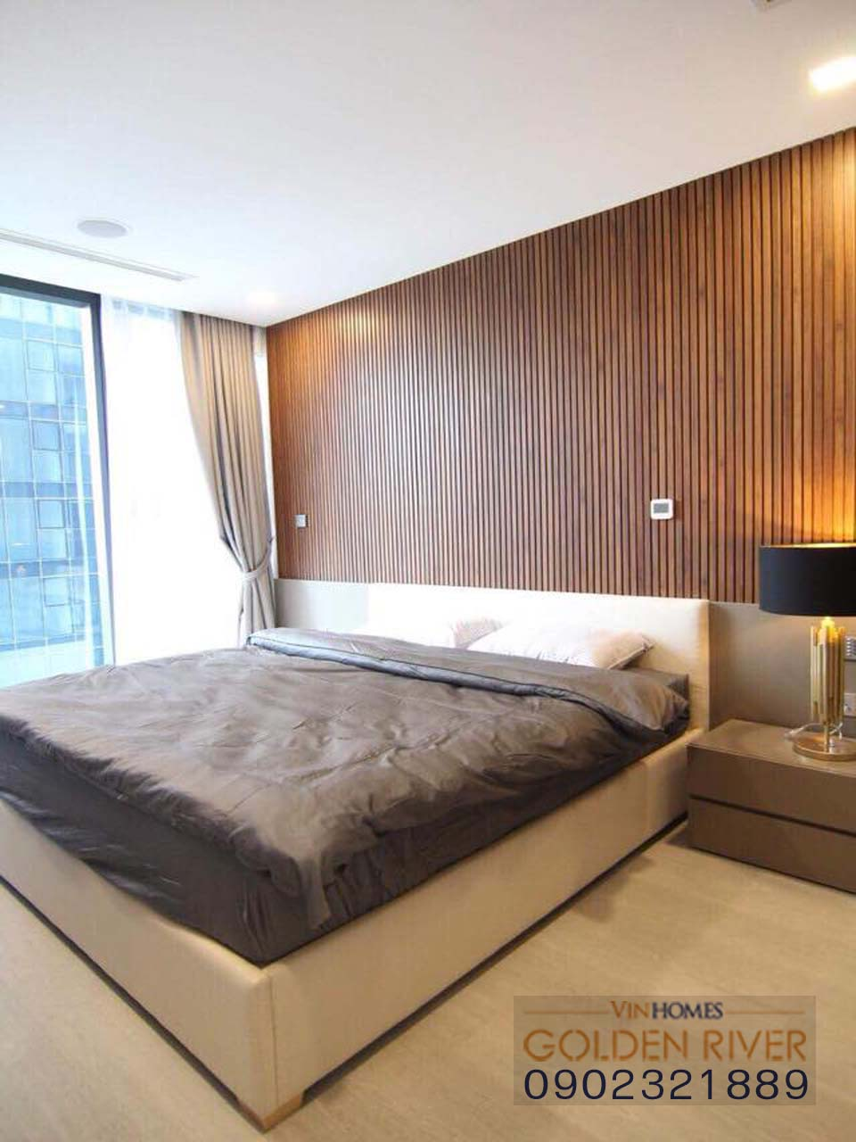 Vinhome Ba Son cho thuê căn hộ 51m2 nội thất cực đẹp - hình 10