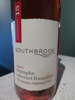 Southbrook Triomphe Organic Cabernet Franc Rosé 2015 - VQA Niagara Peninsula, Ontario, Canada (88 pts)