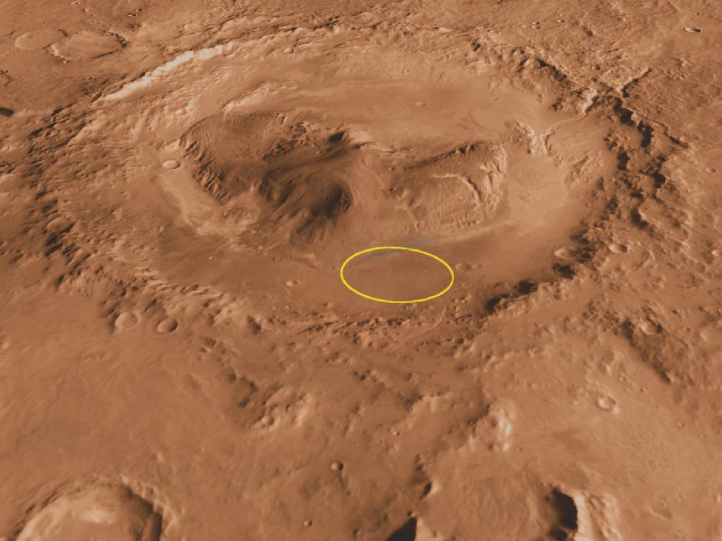 The Book Tripper: Curiosity exploring Mars