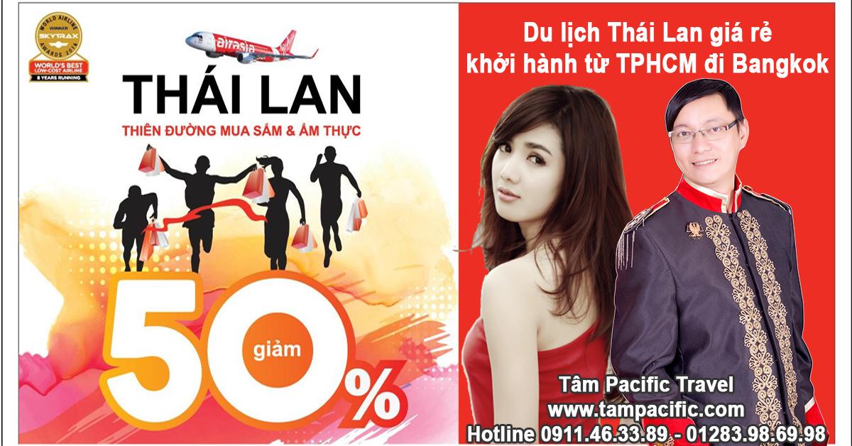 Du lịch Thái Lan giá rẻ khởi hành từ TPHCM đi Bangkok của Thái Lan