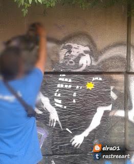 como hacer una pieza de street art
