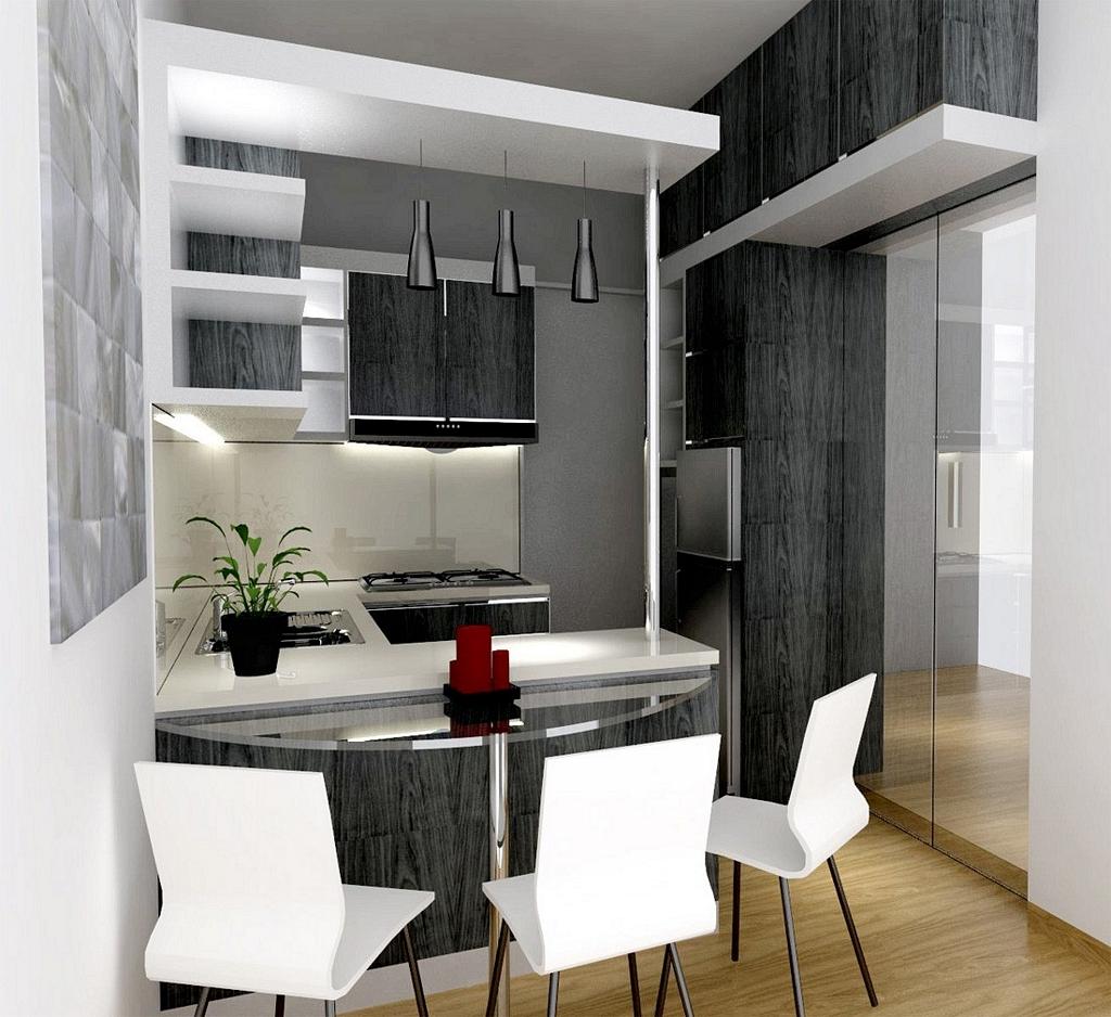 kitchen set apartemen 1