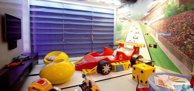 Habitaci n tema autos ideas para decorar dormitorios - Dormitorios de cars ...