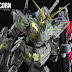 Painted Build: DM PG 1/60 Unicorn Gundam w/ MJH LED Set Custom