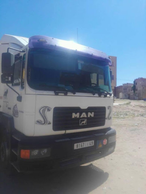 camion benne man occasion model 2002