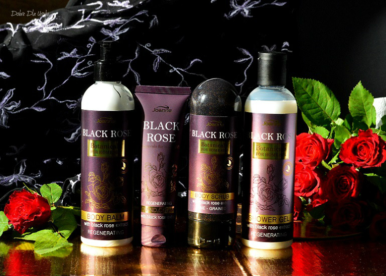 Joanna Botanicals for Home Spa Black Rose - kosmetyki z ekstraktem z Czarnej Róży recenzja