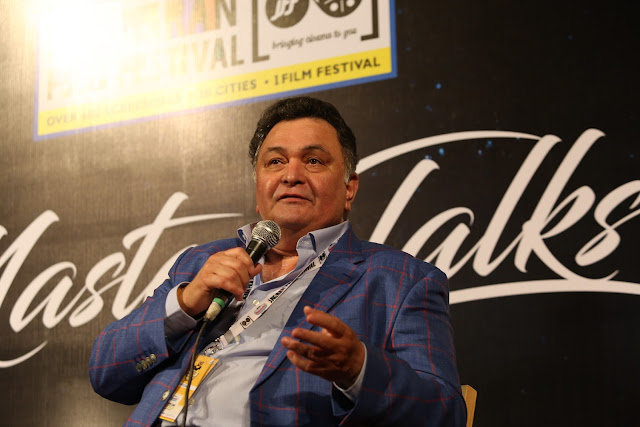 Rishi Kapoor during the opening of 8th Jagran Film Festival  (