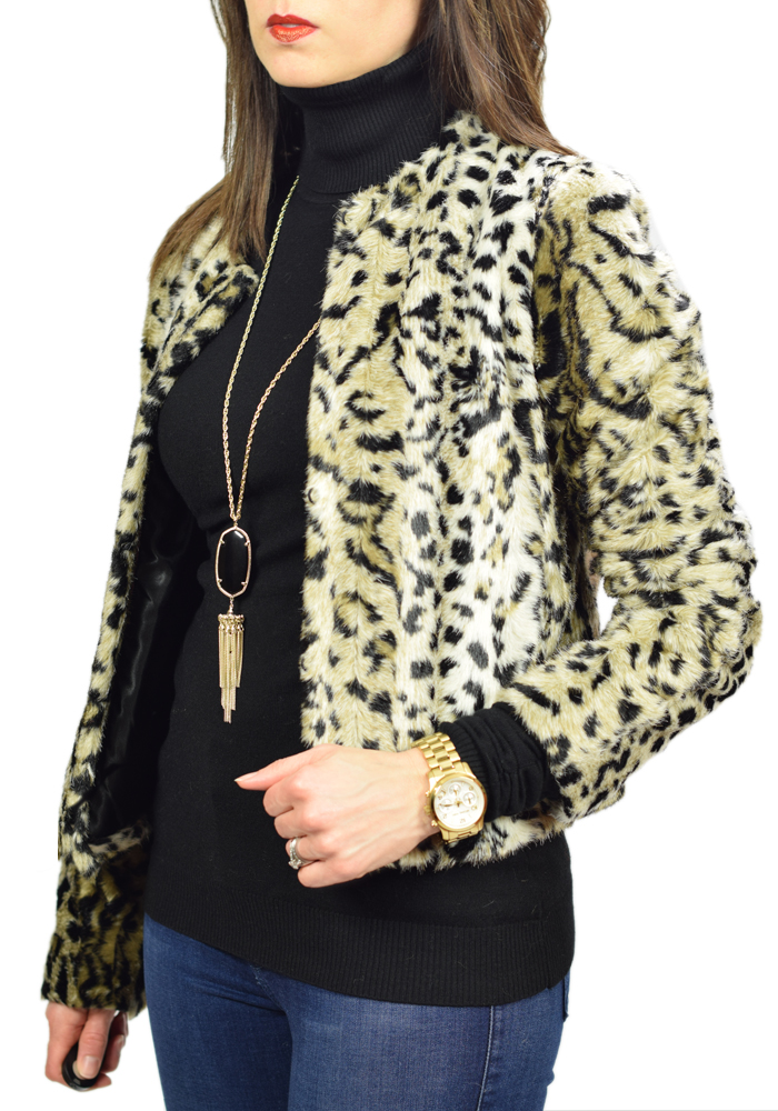 express leopard jacket, kendra scott rayne necklace, ivanka trump over the knee boots