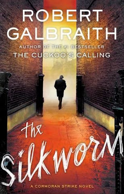 The Silkworm by Robert Galbraith - book cover
