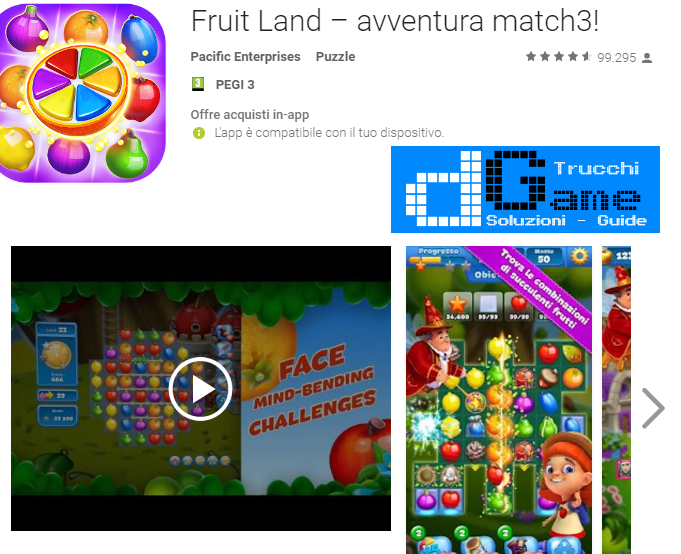 Trucchi Fruit Land – match3 adventure Mod Apk Android v1.54.0