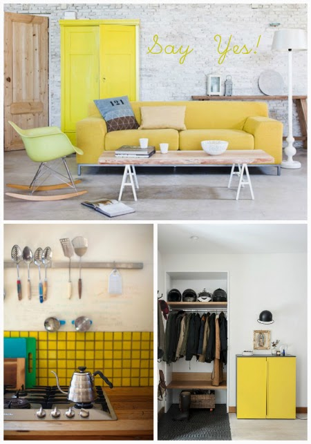 Say YES to yellow details