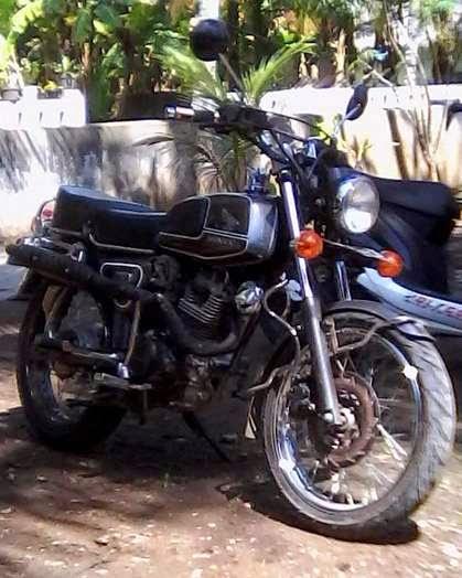 Motor Klasik Honda Ditangan Pangandaran Honda Klasik