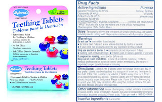 ingredientes tabletas denticion hyland's teething tablets ingredients
