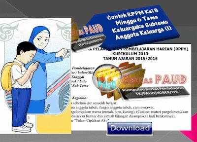 Contoh RPPM Kel B Minggu 6 Tema Keluargaku Subtema Anggota Keluarga (1)