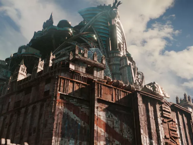 London City from Mortal Engines film