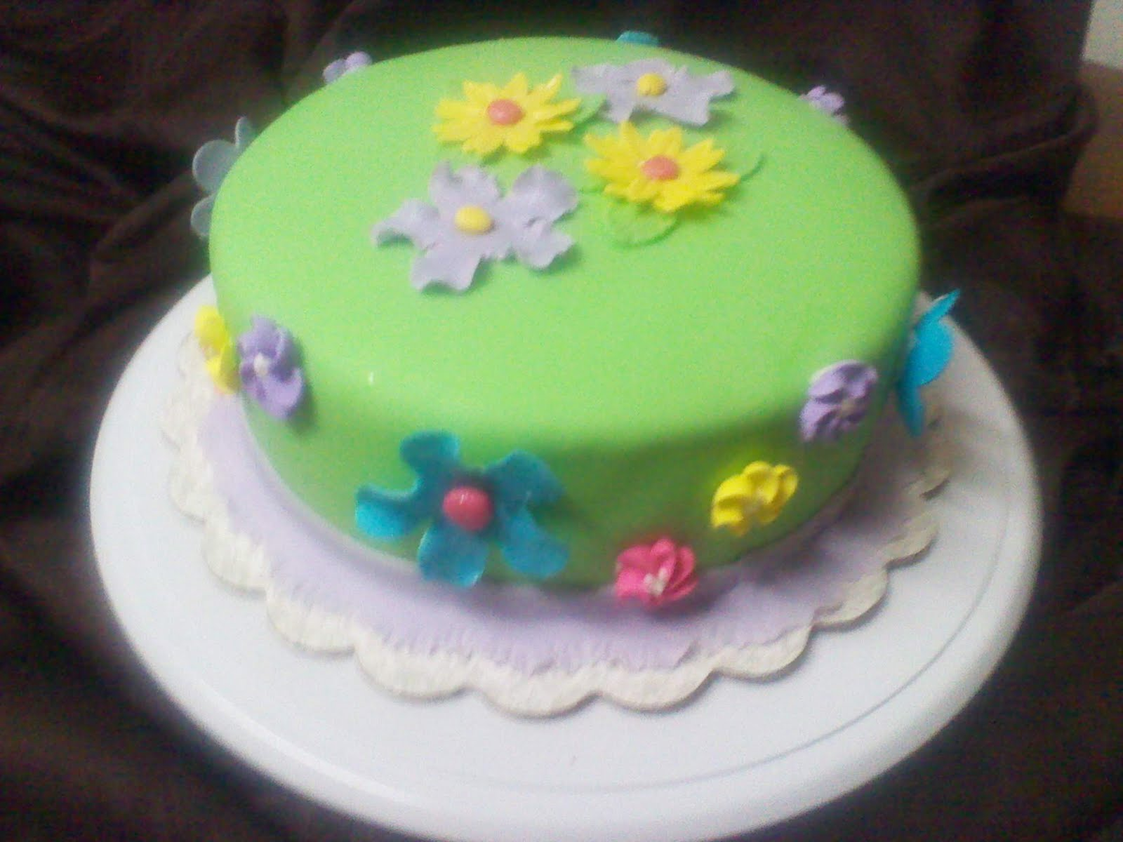Flower Garden Birthday Cake Ideas