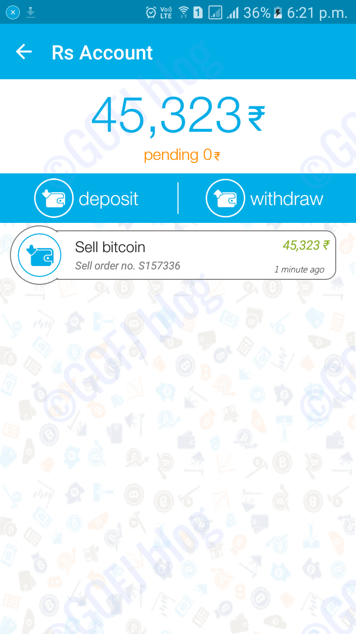 Zebpay bitcoin wallet reviews features price in india 2018 zebpay bitcoin sold notification zebpay inr deposited in rs account ccuart Gallery