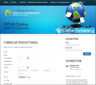 Download Aplikasi Penerimaan Siswa Baru (PSB) Online Berbasis Web Daftar