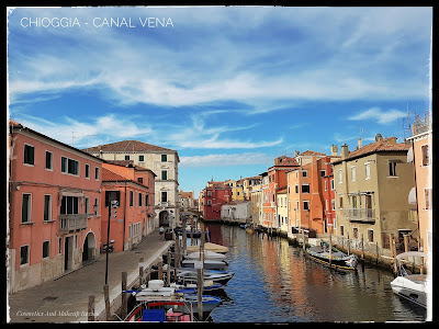 Chioggia (VE) - Canal Vena visto dal Ponte di Vigo