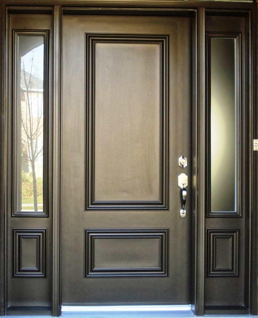 Desain Pintu Utama Rumah Mewah Sobat Interior Rumah