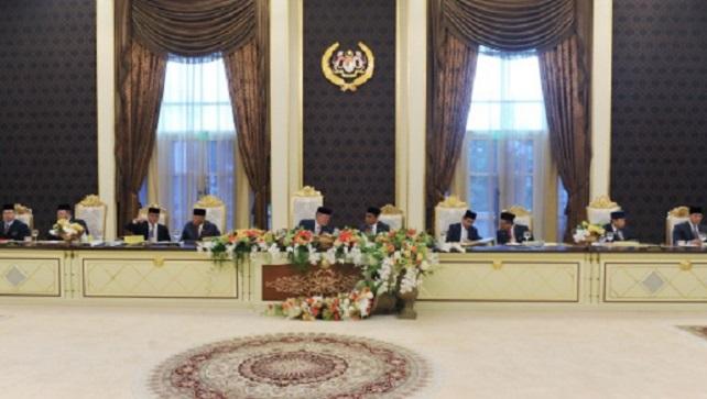 Sultan Johor Pengerusikan Mesyuarat Majlis Raja-Raja Ke 242