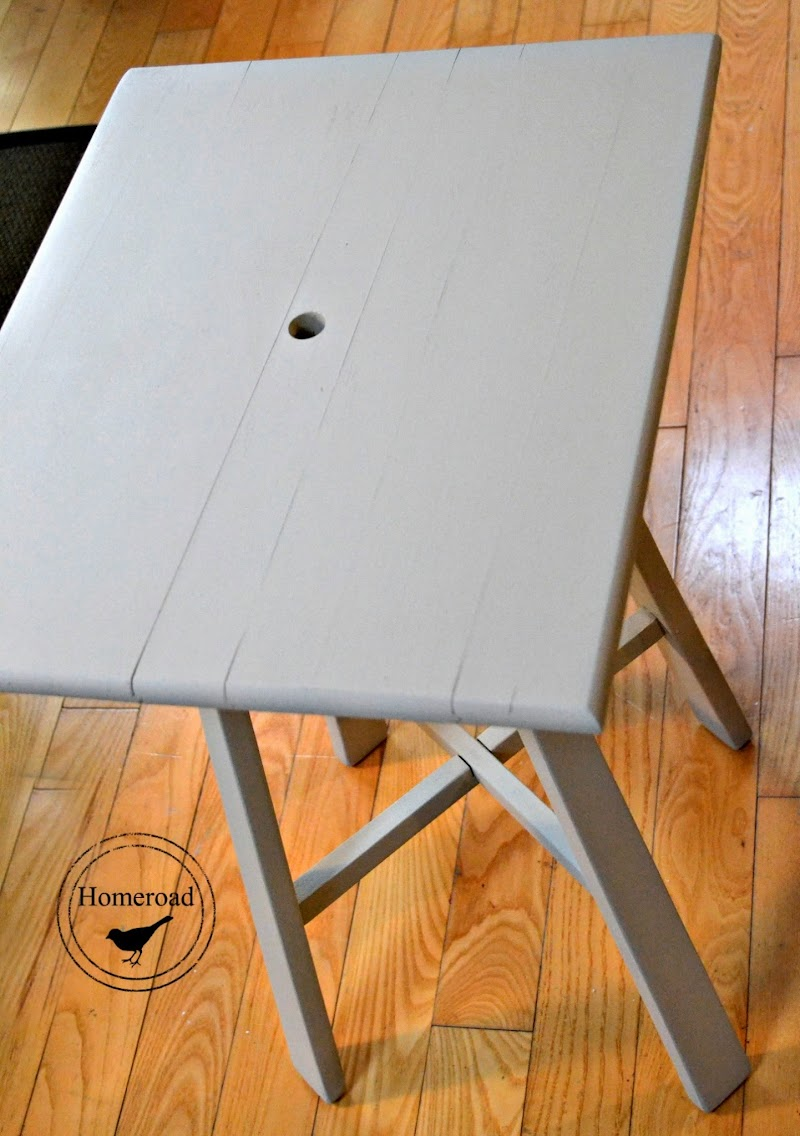 Saving a Striped Table With a Hole