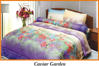 Sprei & BedCover Impression - Caviar Garden