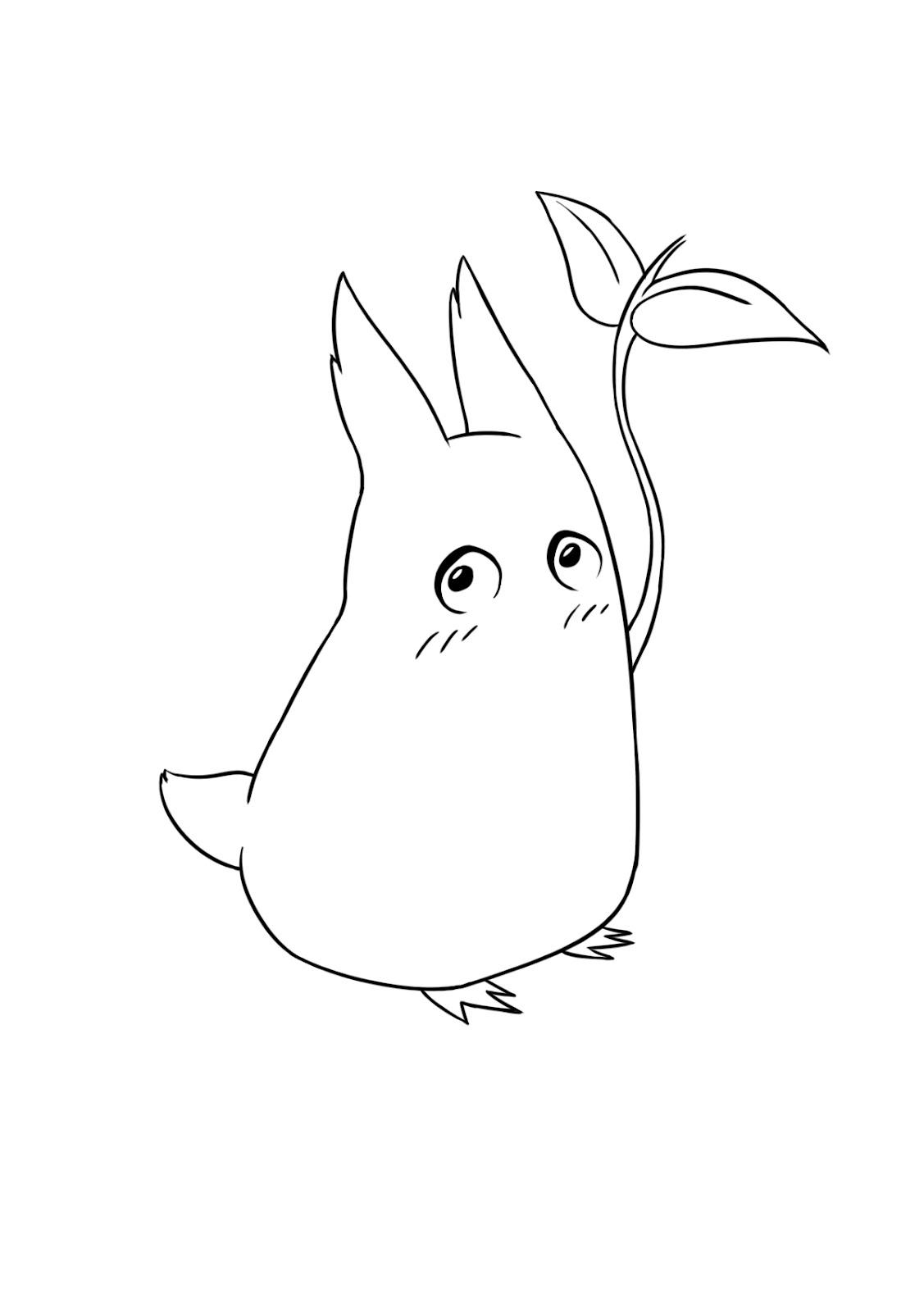 Mark's on Paper: Chibi Totoro