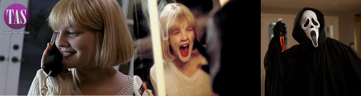Drew Barrymore e Ghostface