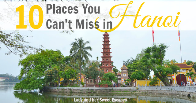 Tourist attractions in Hanoi Vietnam