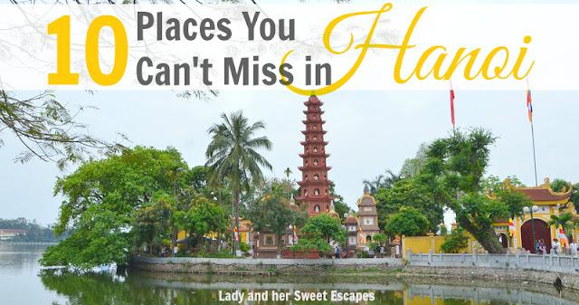 Tourist attractions in Hanoi Vietnam