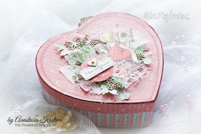 сокровища, мамины сокровища, сокровищница, шкатулка, коробочка для подарка, коробочка, девичьи секреты, Kosana art, Анастасия Костина, подарок для девочки, подарок девочке