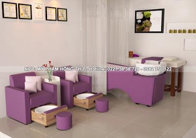 bán nội thất làm Nail tại Thái Bình