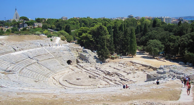 Greek Theater em Siracusa