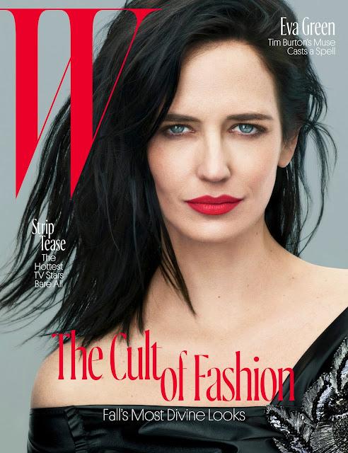 Actress, Model, @ Eva Green - W Magazine August 2016