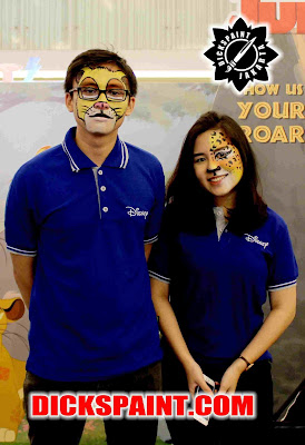 face painting animal disney Kids Jakarta