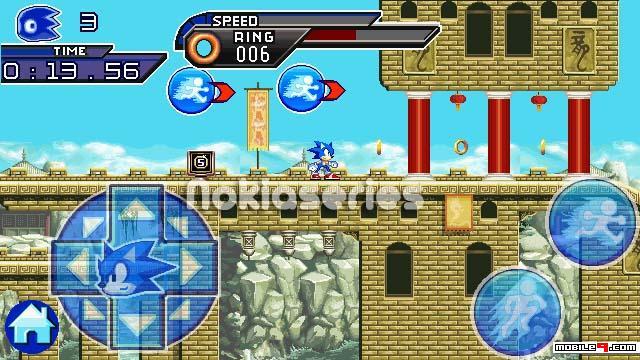 jogo sonic unleashed para celular java
