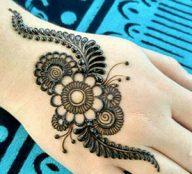 Simple And Easy Mehndi Designs For Hands Latest Mehndi Designs