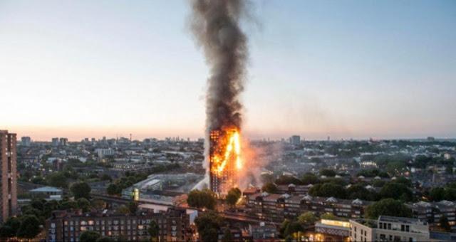 Muslim Sedang Sahur Jadi Penyelamat Pertama Korban Kebakaran London