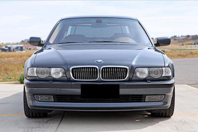 Eksterior BMW E38 Seri-7 Facelift
